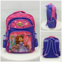 Tas Ransel / Backpack Sekolah Anak Perempuan Sofia The First A-230