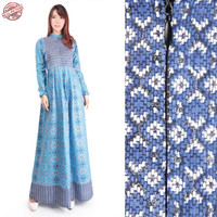 SB Collection Dress Maxi Laili Longdress Gamis Terusan Batik Wanita