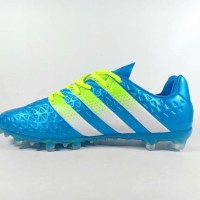 Sepatu Bola Adidas Ace 2016 Blue FG Replika Impor TERLARIS