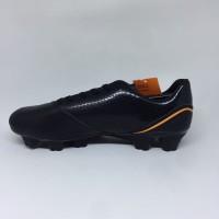 Sepatu bola Ortuseight Original Genesis FG Black orange new 2019 TER