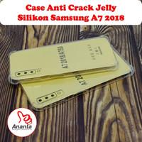 Case Anti Crack Silikon Samsung A7 2018 Jelly