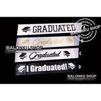 Sash Graduation / Selempang Wisuda / Selempang Graduation/ Sash Wisuda