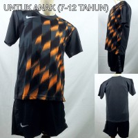 Setelan Baju/Kaos Sepak Bola/Futsal Dri-Fit Print Kids/Anak Nike 5