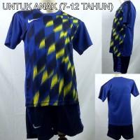 Setelan Baju/Kaos Sepak Bola/Futsal Dri-Fit Print Kids/Anak Nike 4