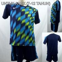Setelan Baju/Kaos Sepak Bola/Futsal Dri-Fit Print Kids/Anak Nike 3