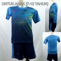 Setelan Baju/Kaos Sepak Bola/Futsal Dri-Fit Print Kids/Anak Nike