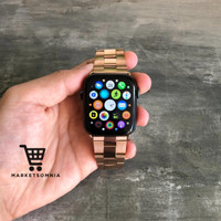 STRAP STAINLESS APPLE WATCH BAND LINK SPACE iWATCH SERIES 3 4 5 42MM