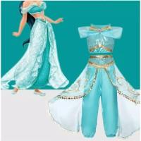 Baju Pesta Anak/Baju Kustom Princess Jasmine/Party Dress Jasmine