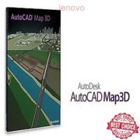 Autocad Map 3D 2016 X 86 & Tutrial Instal Dan Training