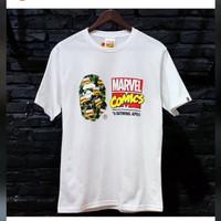 Bape x Avengers Marvel comics - S
