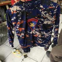 Kaos Anak Loreng - Setelan Anak Loreng - Baju Anak Loreng Polair