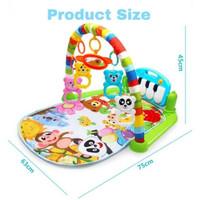Playmat Playgym Bayi Mainan Musik Matras Piano Injak Musical Baby R16
