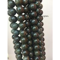 Black Jade 14mm magnetic bahan gelang kalung kesehatan premium akik