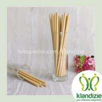 [Bambu 22] Sedotan Bamboo Straw Zero Waste 22cm