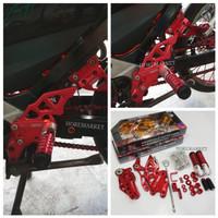 Underbone Monster 3 Model Lipat NUI Satria Fu 150 Aksesoris Motor