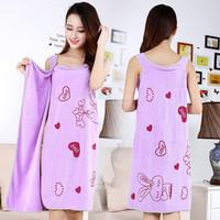 Baju Handuk / Wearable Towel Kimono Renang Mandi Multi Fungsi Karakter