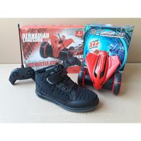 Sepatu Sekolah Anak Ardiles dan Hadiah RC Beetle Car