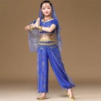 INDIA BELLY DANCE costume haloween kostum anak baju tari perut arabian