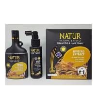 PAKET NATUR EXTRACT SHAMPOO & HAIR TONIC GINSENG