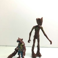 Mainan Action Figure Avengers Groot and Rockets Endgame