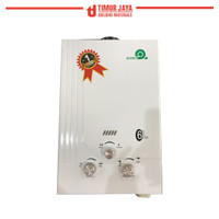 Water Heater Gas Frisone 6ltr/menit low pressure