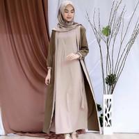 Baju Muslim Wanita Terbaru WIRASHA MAXI Murah Kekinian Trendy 2019