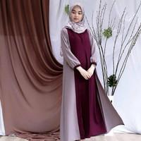 Baju Muslim Wanita Terbaru WIRASHA MAXI Kekinian Trendy Syari 2019