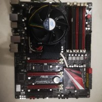 motherboard asus rampage 3 i7 950 3ghz ram 3gb