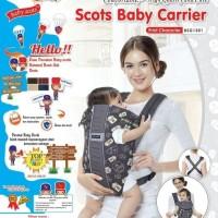 Gendongan Baby Scots Combination Baby Carrier/Gendongan Bayi