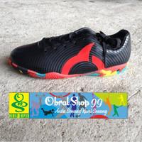Sepatu Futsal Ortuseight Forte Helios IN JR - Black/Ortred Original