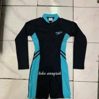 baju renang diving tangan panjang anak remaja unisex speedo