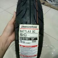 BAN LUAR BATTLAX SC UKURAN 120 / 70 RING 13 UNTUK NMAX