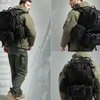 Tas Ransel Gunung Outdoor Model Tactical 50 Liter Import