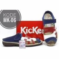 Sandal Kickers Wanita Kode MK-06 Biru