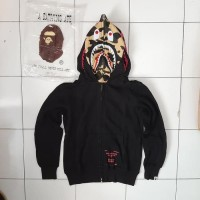 HOODIE BAPE X UNDEFEATED DOUBLE SHARK HOODIE GRADE 1:1 AUTHENTIC
