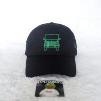 TOPI ANTI SOCIAL SOCIAL CLUB RSVP GALLERY BLACK CAP