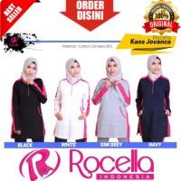 Baju Olahraga Muslimah Jovanca   Kaos Olahraga Wanita , Senam XXL,XXXL