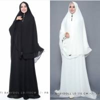 Setelan Baju Gamis Wanita Muslimah umroh dan haji SvAlhajj berkualitas