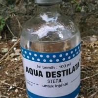 Terpopuler Aquades/ Aqua Destilata 100 Ml Murah