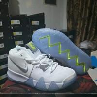 Sepatu Basket Nike Kyrie 4 White Volt original