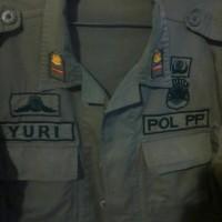 TERBARU baju seragam pdl satpol pp lengkap dengan bet nya