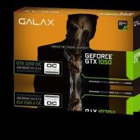 TERFAFORIT VGA GALAX NVIDIA GEFORCE GTX 1050 OC 2GB DDR5 PRODUK