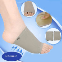 Arch Support Silicone Padded Socks Flat Foot Insoles Cushion
