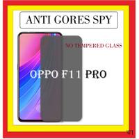 ANTI GORES SPY HITAM GELAP PRIVACY OPPO F11 PRO 6.53 INCH 401719