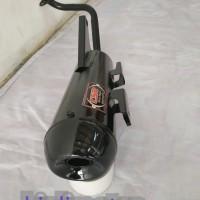 knalpot Racing bobokan model standar untuk Honda beat fi ESP