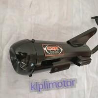 knalpot Racing bobokan model standar untuk Honda beat lama karbu