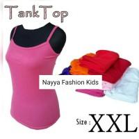 Tank Top Ukuran Jumbo XL-XXL / Kaos Tank Top Wanita Murmer
