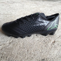 Sepatu Bola Ortuseight Utopia FG JR-Black/Fluo Green