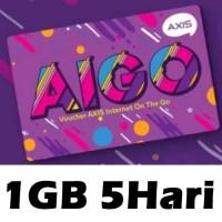 VOUCHER AXIS AIGO MINI 1GB 5HARI
