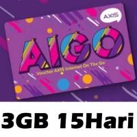 VOUCHER AXIS AIGO MINI 3GB 15HARI